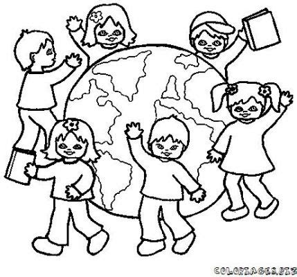 coloring pages holidays around the world coloriage enfants du monde