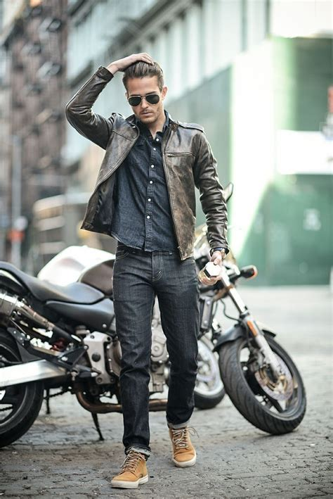 mens casual motorcycle 134 best images about fashion on pinterest mens fall