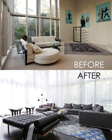 before and after decor before and after contour interior design