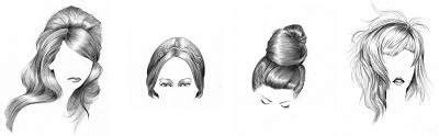 fitinline menggambar bagian wajah hidung bibir telinga dan rambut