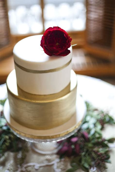 wedding cake flower top 27 timeless burgundy and gold fall wedding ideas