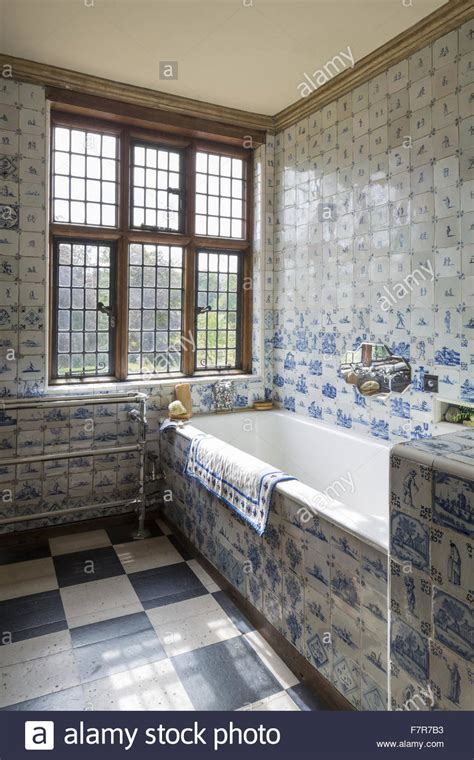 Number Of Bathrooms In The White House by The Ireton Bathroom Showing The Large Number Of Blue And