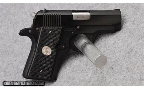 colt mustang pistol colt mustang pistol in 380 auto