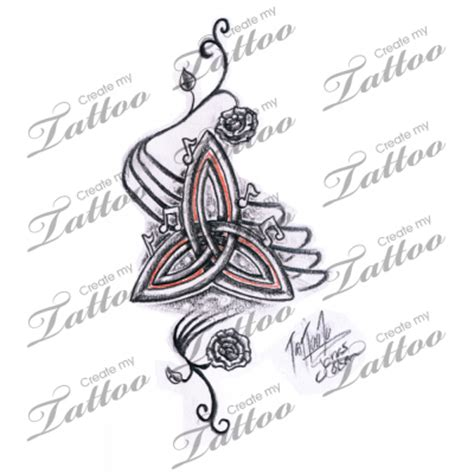 knot design definition triquetra tattoos trinity knot celtic symbol meanings