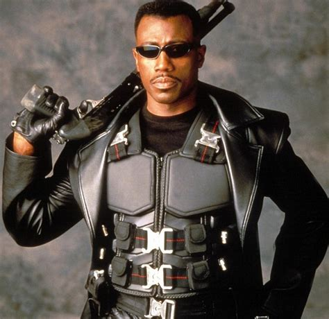 with blade wesley snipes is pretty much blade fact fiend