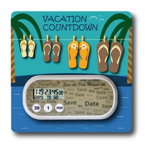 cruise and vacation desk vacation countdown clock