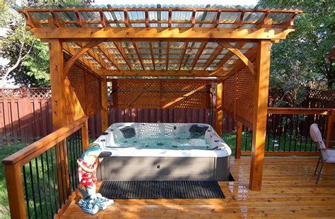 Bridge Style Kitchen Faucet Pergola Roof Ideas Patio Modern With Awning Cedar Concrete