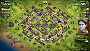 Th9 farming base arcanum clash of clans land
