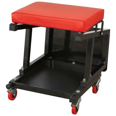 utility two step stool sealey scr16 mechanic s utility seat step stool rapid
