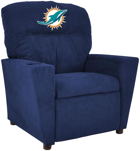 miami dolphins recliner miami dolphins kids recliner