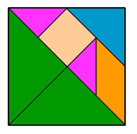 tangram cuadrado tangram