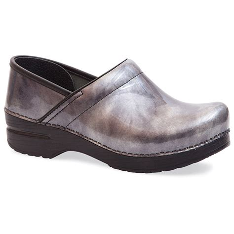 dansko shoes outlet s professional pewter patent clog by dansko