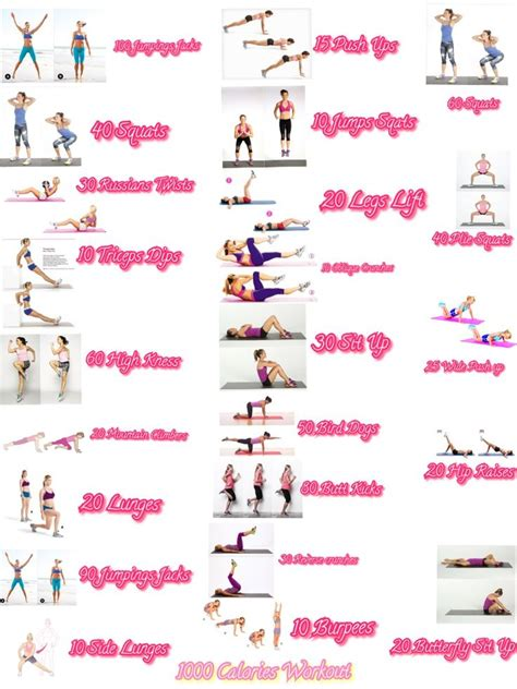 25 best ideas about 1000 calorie workout on