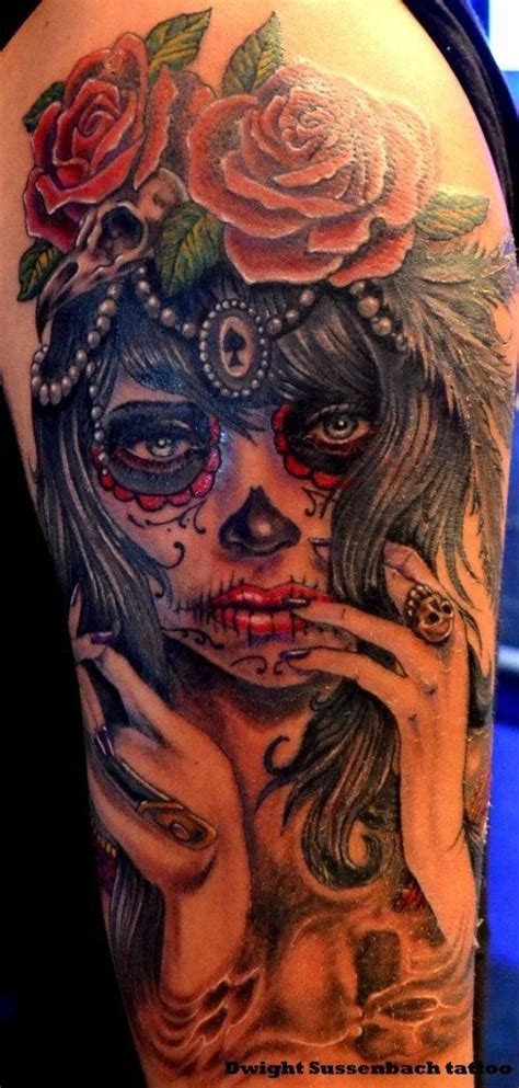 voodoo doll tattoo designs sugar skull chicano voodoo tats