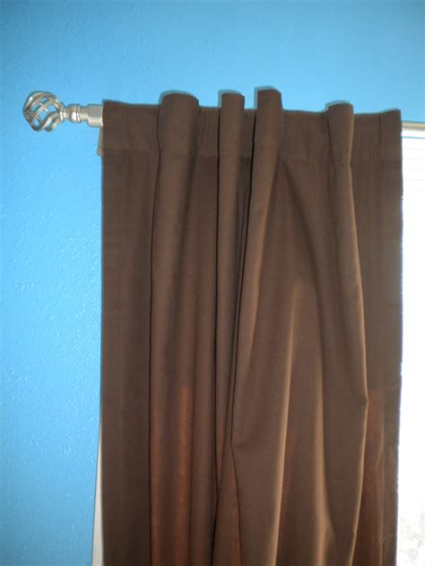 how to make rod pocket curtains the dabbling crafter diy wednesday rev rod pocket