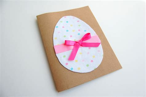 make a easter card diy easter cards