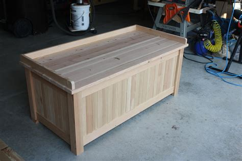 build outdoor storage bench from this to a storage bench by simonskl