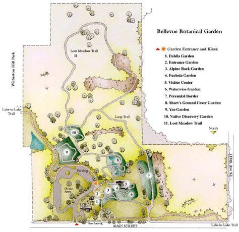 Bellevue Botanical Garden Map Bellevue Botanical Gardens Map Bellevue Botanical Garden Parks Recreation Bellevue Botanical