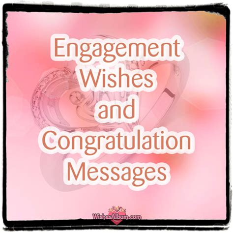 Wedding Engagement Congratulations Message by Engagement Wishes And Congratulation Messages