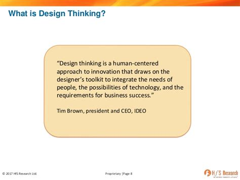 design thinking operations hfs webinar what s real about design thinking in business