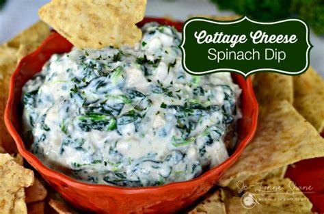 Cottage Cheese Spinach Dip cottage cheese spinach dip