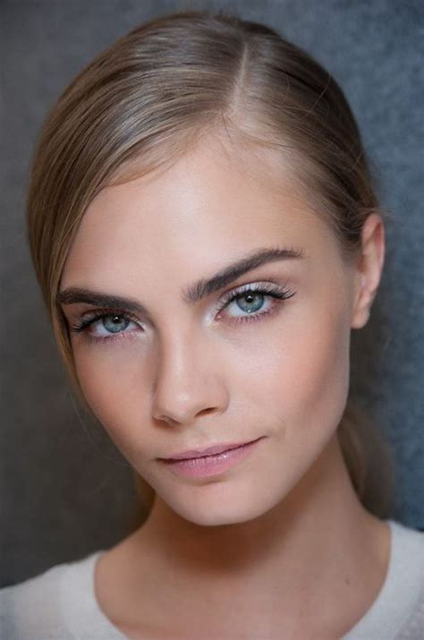 Cara Simple Cara Delevingne Fresh And Clean And Mascaras On