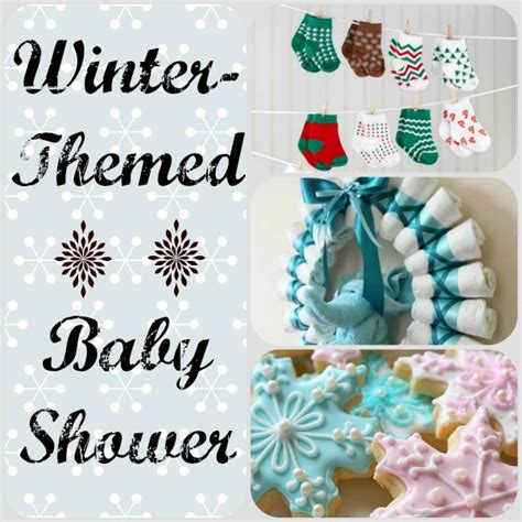 winter themed baby shower ideas family focus - Winter Themed Baby Shower Decorations