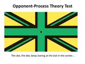 opponent process theory of color psy 150 403 chapter 6 slides