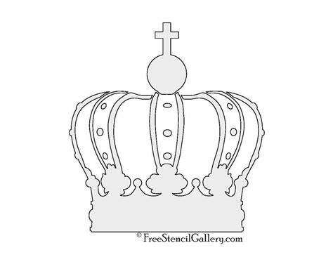 printable crown stencil crown stencil free stencil gallery