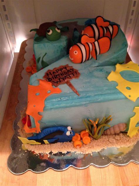 nemo number two cake cakecentral com