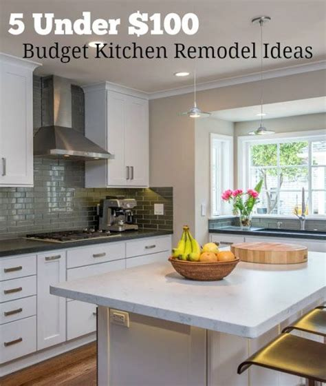kitchen remodel ideas budget 17 best ideas about budget kitchen remodel on pinterest