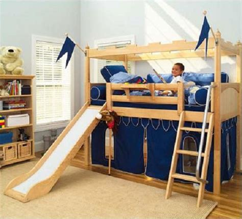 how to build bunk beds diy bunk bed plans slide wooden pdf garage toy box plans