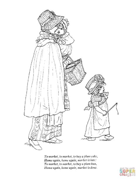 patty cake coloring page mother goose nursery rhymes coloring pages free coloring