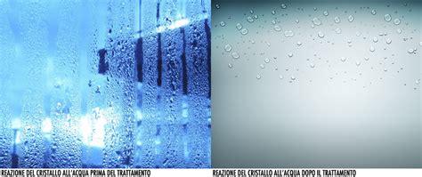 eliminare calcare vetro doccia trattamento anticalcare per cristalli doccia ecco nano