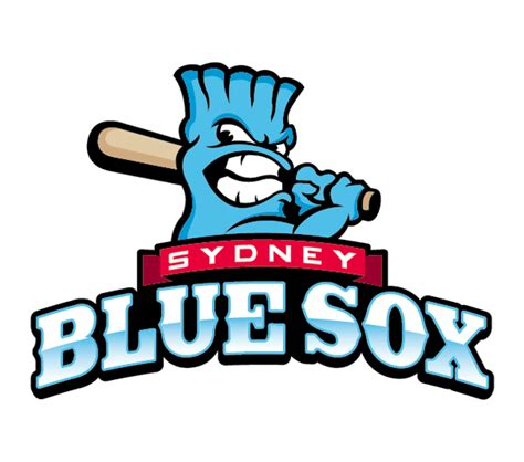 Tshirtpakaiankaos Olahraga Baseball Blue Sox Logo sydney blue sox 171 mlbblogger