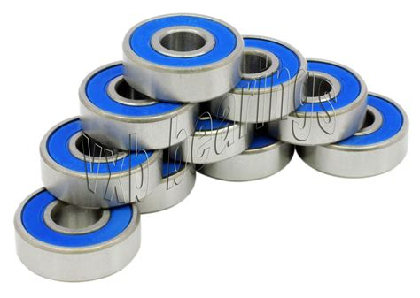 Bearing R 188 Zz Asb lot 10 sealed bearings 1 4 quot x 1 2 quot x 3 16 quot inch r188 ebay