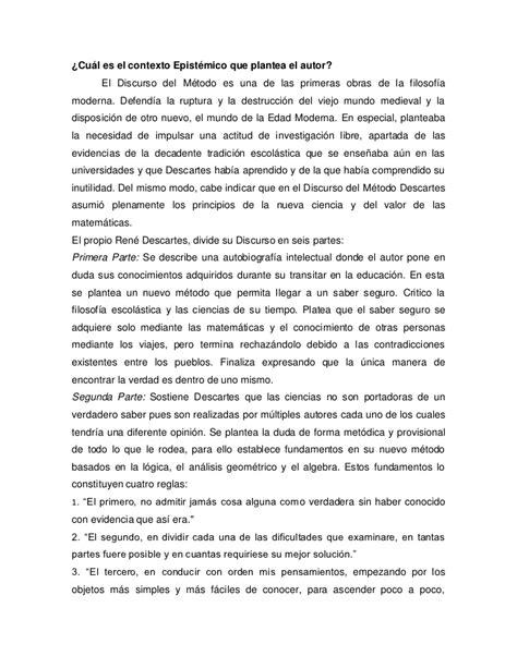 discurso del metodo y 843093796x analisis discurso del metodo