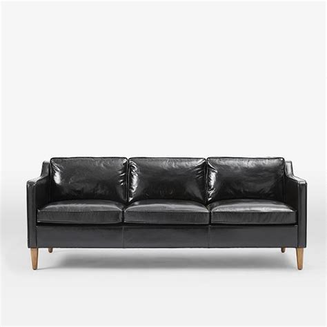 west elm leather couch hamilton leather sofa west elm home decor i love
