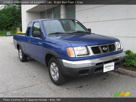 1998 nissan frontier interior bright blue pearl 1998 nissan frontier xe extended cab