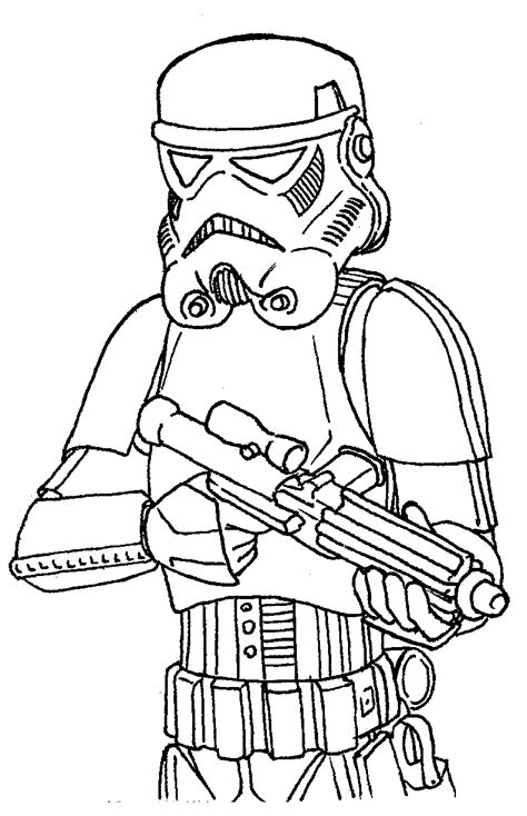 scout trooper coloring pages pin scout trooper colouring pages on