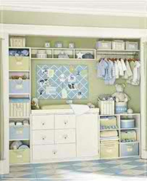 Baby Room In Closet nursery closet client