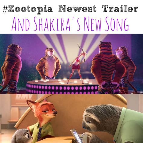 theme song zootopia zootopia newest trailer and shakira s new song abc