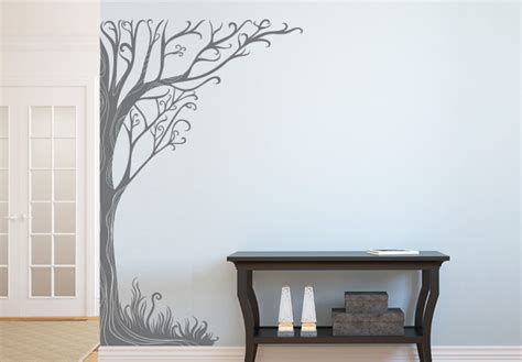 tree wall decals vinyl sticker flowers and trees wall decals home decor shop tree