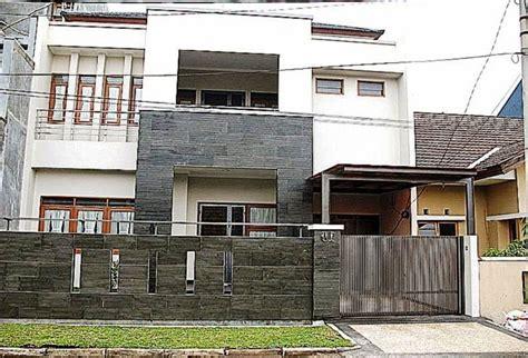 model pagar tembok minimalis modern desain model pagar tembok minimalis modern elegan