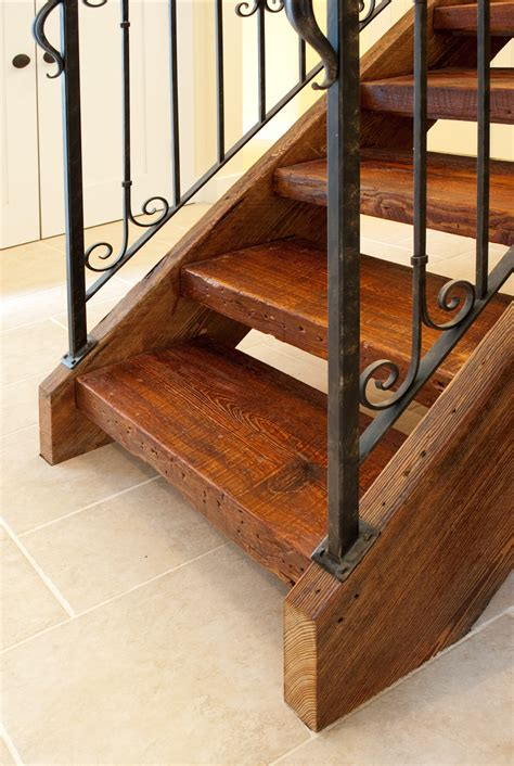 Wood Stair Parts Reclaimed Antique Wood Stair Parts Mountain Lumber Company