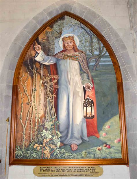 william holman hunt the light of the the light of the the anglican church of all saints