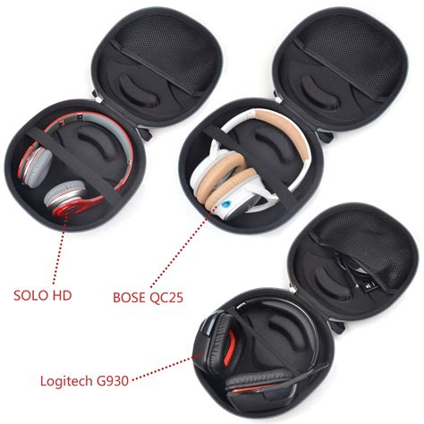 Universal Carrying Storage For Headphones solid for ear studio headphones best gear