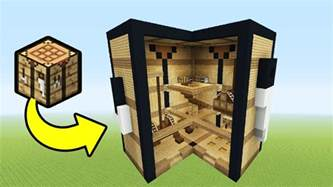 minecraft tutorial how to make a crafting table house