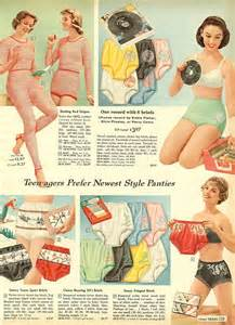 Retro Lingerie Pattern » Home Design 2017