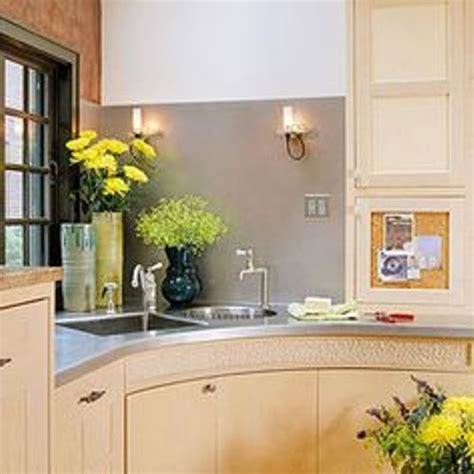corner kitchen sink design how to decorate a corner kitchen sink 5 ideas for amazing